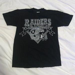 Vtg LA Raiders T-shirt
